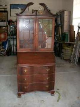 Antique Secretary Desk...J Pouch